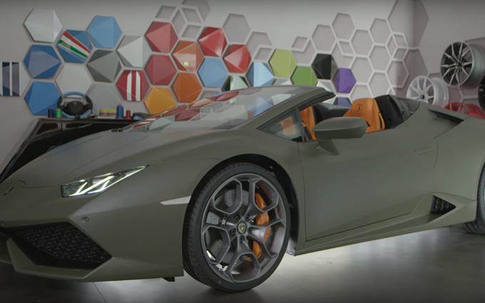 Lamborghini Huracán Spyder: nuove personalizzazioni al programma Ad Personam [VIDEO]