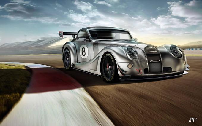 Morgan Aero 8 GT Concept: in programma una nuova versione da corsa? [RENDERING]