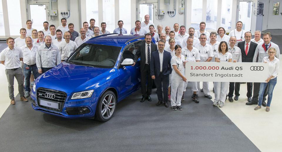 Audi Q5: costruito il milionesimo esemplare