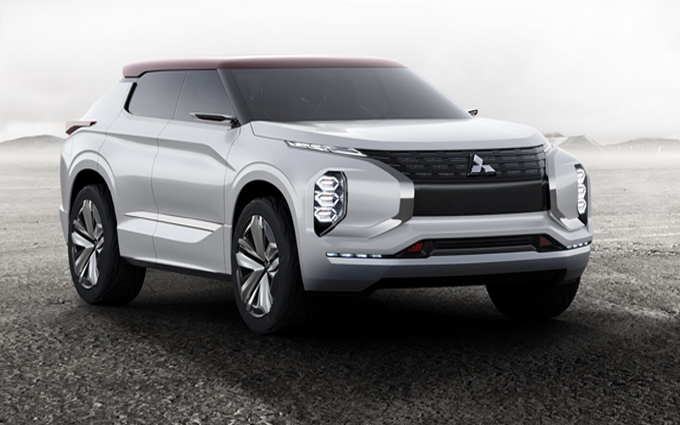 Mitsubishi Ground Tourer plug-in hybrid concept