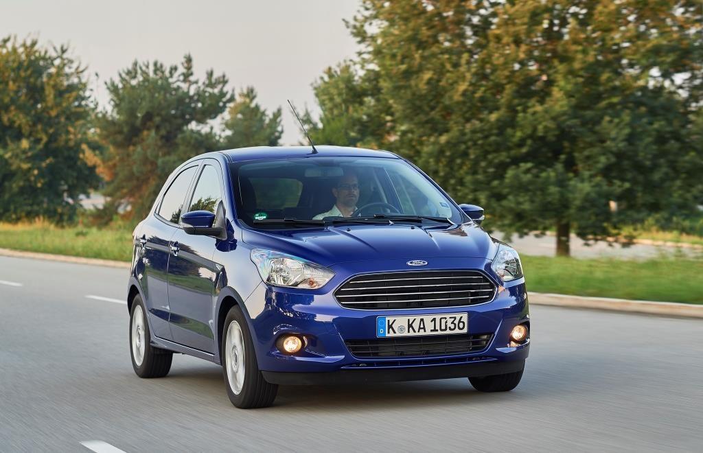 Nuova Ford KA+ foto ufficiali 27 settembre 2016