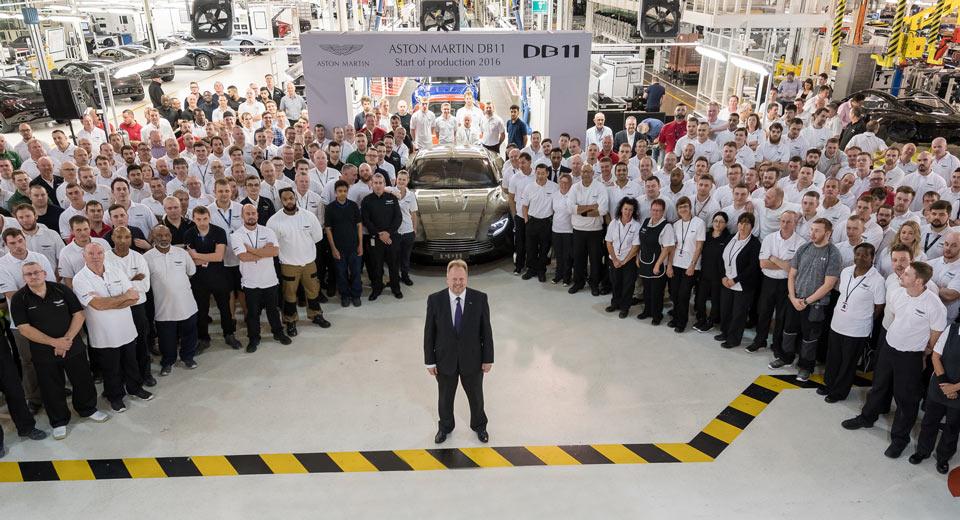 Aston Martin DB11: al via la produzione a Gaydon