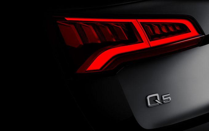 Audi Q5 MY 2017: la FOTO TEASER del SUV che sarà presentato a Parigi