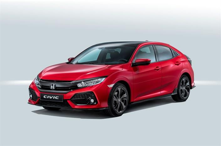 Honda Civic 5 porte foto ufficiali 29 settembre 2016