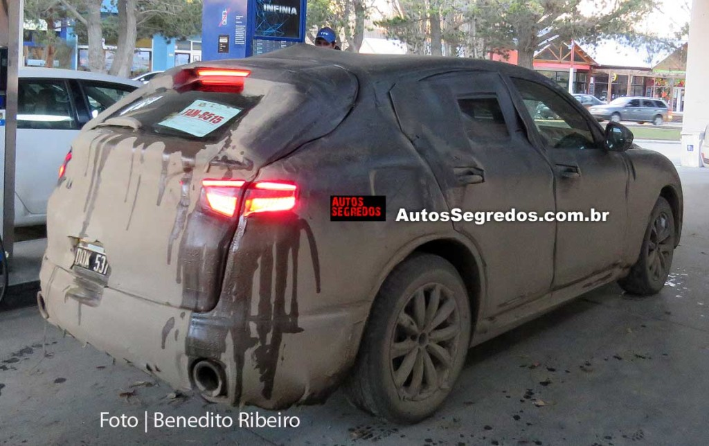 Alfa Romeo Stelvio - Foto spia 09-09-2016