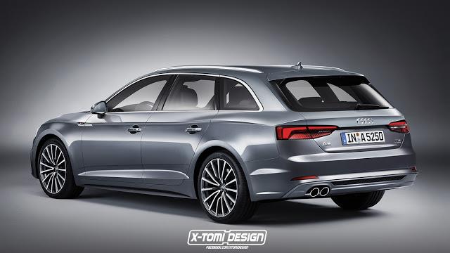 Audi A5 Avant [RENDERING]