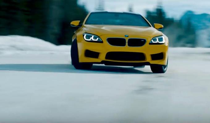 BMW M6 Coupé: equilibrio e potenza tra le vette canadesi [VIDEO]