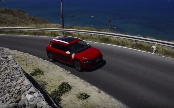 Citroën C4 Cactus Rip Curl: l'anticonformista fatta auto [VIDEO]