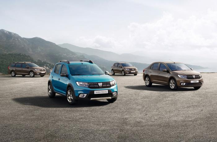 Dacia rifà il look alla gamma Sandero e Logan
