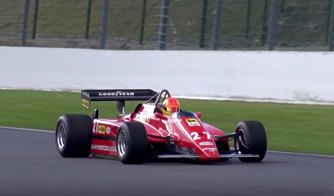Ferrari 126 C2: la monoposto dell'indimenticabile Gilles torna a ruggire a Spa [VIDEO]