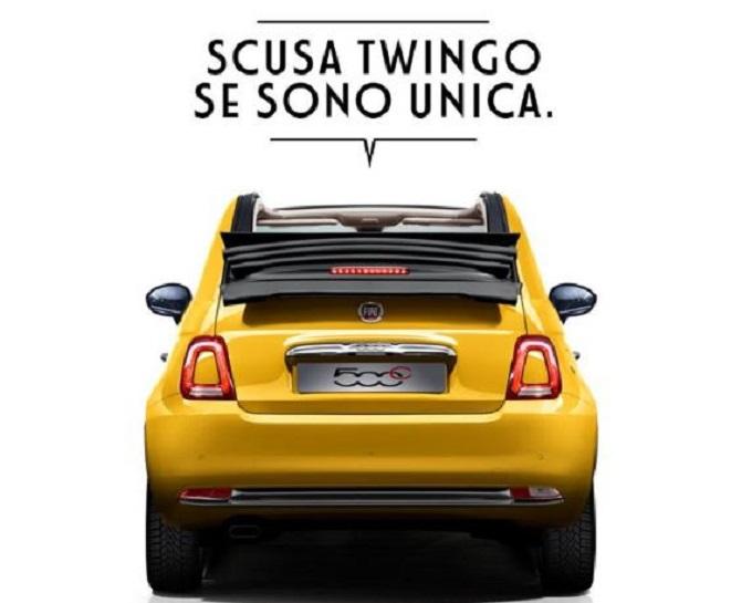 Giornata del perdono: la Fiat 500 cerca di farsi