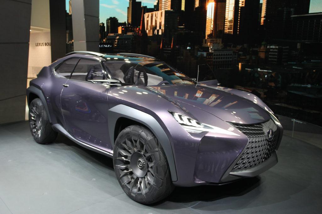Lexus UX Concept in anteprima mondiale al Salone di Parigi [FOTO LIVE]
