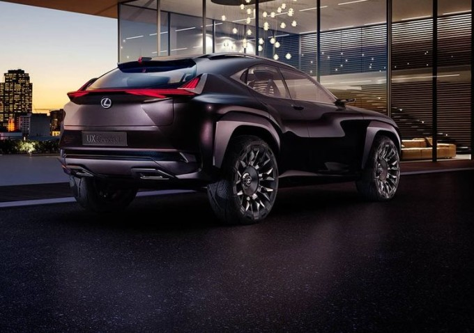 Lexus UX Concept, confermato ufficialmente il debutto a Parigi