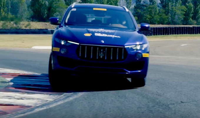 Maserati Levante: potenza e agilità protagoniste in un corso di guida specifico [VIDEO]