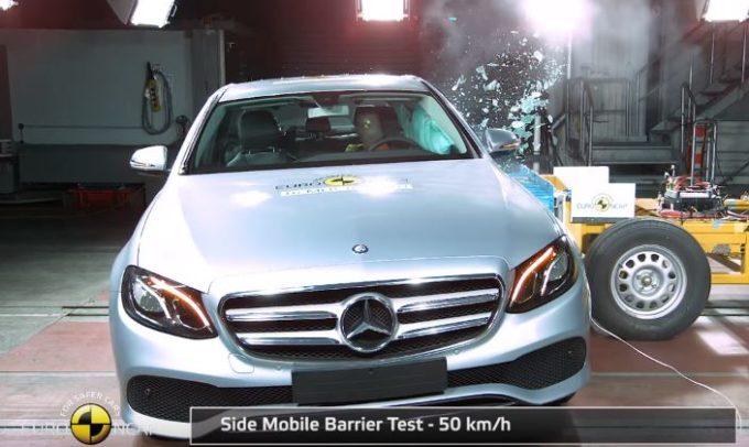 Nuova Mercedes Classe E: sicurezza a 5 stelle Euro NCAP [VIDEO]