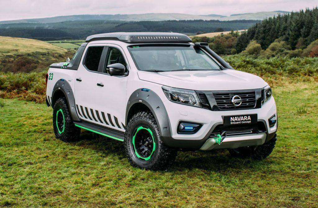 Nissan Navara EnGuard Concept, pick up 4WD da soccorso