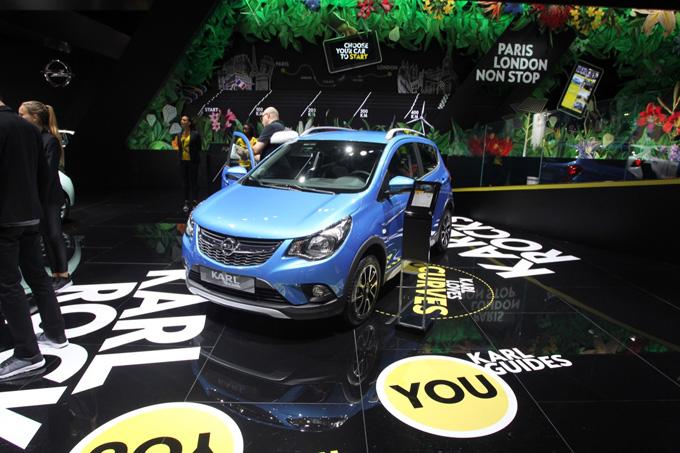 Opel Karl Rocks - Salone di Parigi 2016