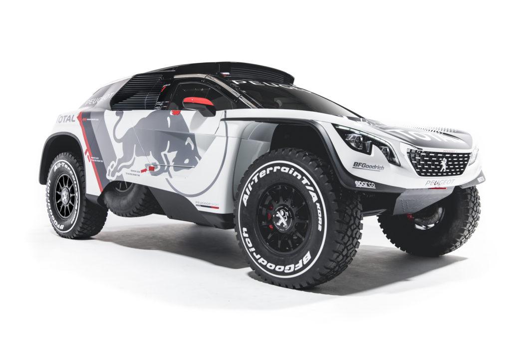 Peugeot 3008 DKR: cattivissima per la Dakar 2017