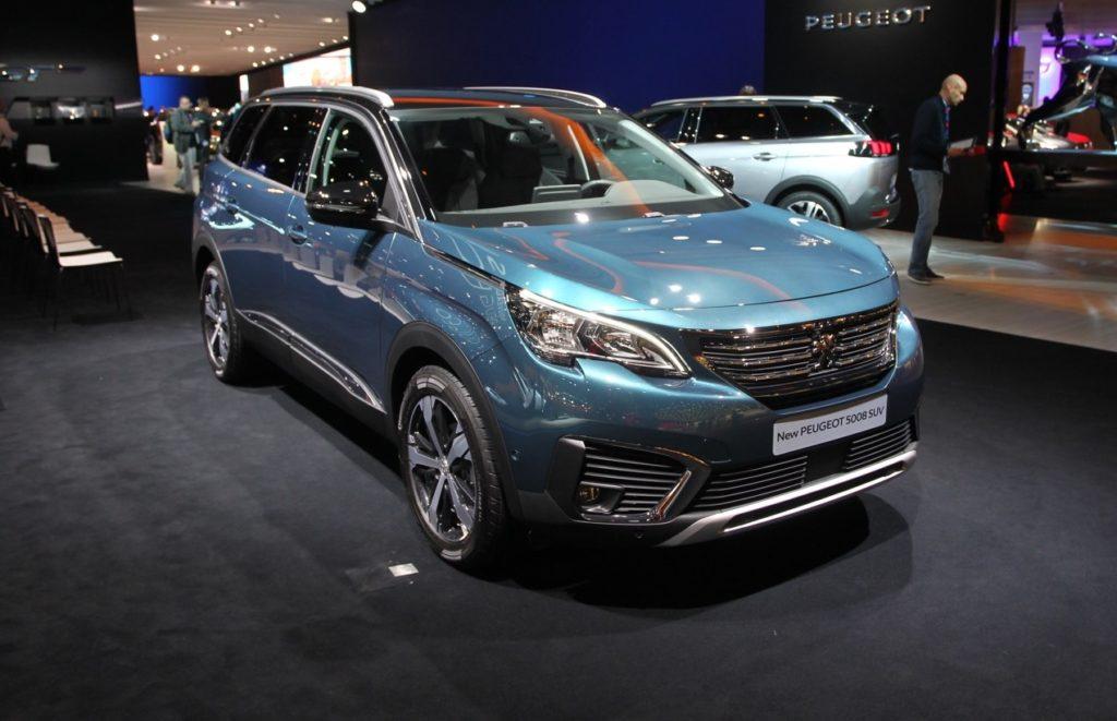 Peugeot 5008 - Salone di Parigi 2016