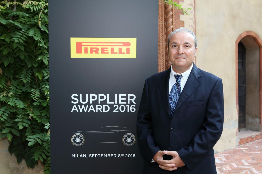 Pirelli Supplier Awards 2016: riconoscimenti per l'operato dei fornitori della P lunga