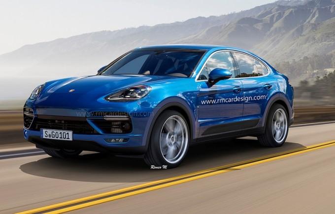Porsche Cayenne Coupé, sportività inedita per il lussuoso SUV [RENDERING]