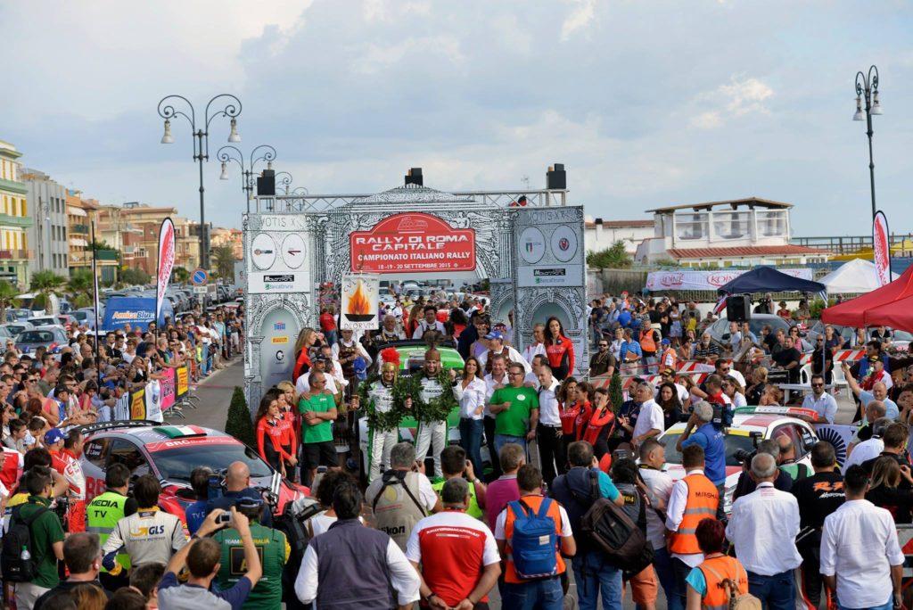 Roma per tre giorni capitale italiana dello sport motoristico: c'è il Rally di Roma