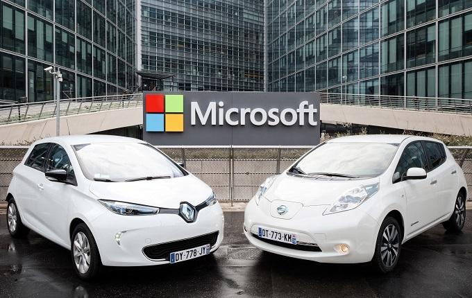 Renault,Nissan e Microsoft insieme per la guida connessa