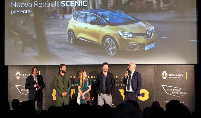 Nuova Renault Scenic alla Mostra d'Arte Cinematografica della Biennale di Venezia 2016