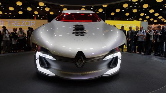 Renault trezor concept al salone di parigi 2016 anteprima for Design della casa francese