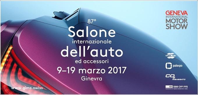 Salone di Ginevra 2017, presentata ufficialmente la locandina dell'87esima edizione