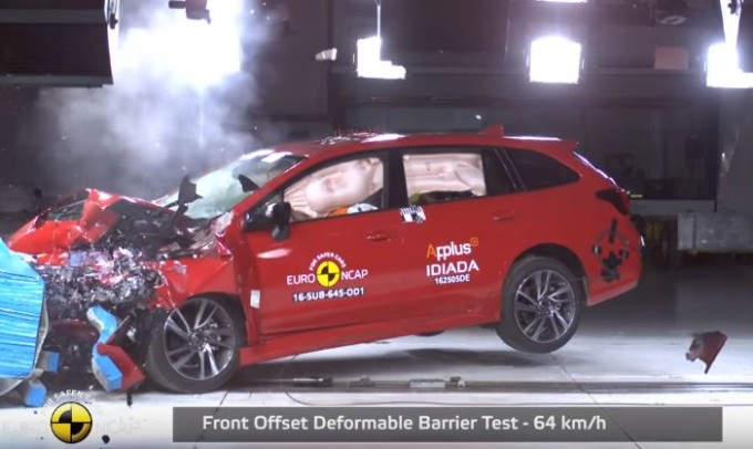 Subaru Levorg, sicurezza al top: conquistate le 5 stelle Euro NCAP [VIDEO]
