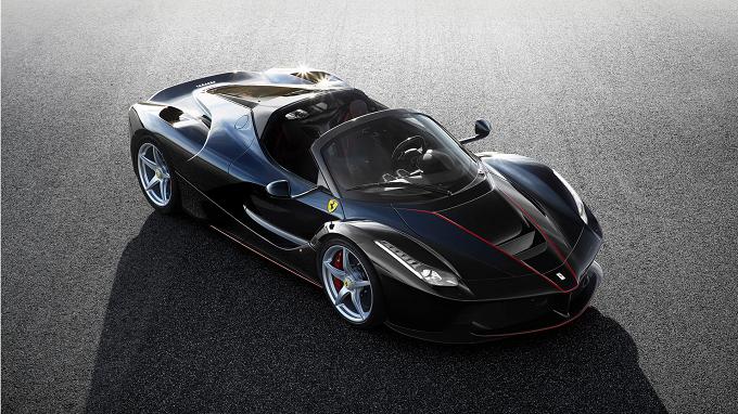 Ferrari LaFerrari Aperti: si scopre al Salone di Parigi
