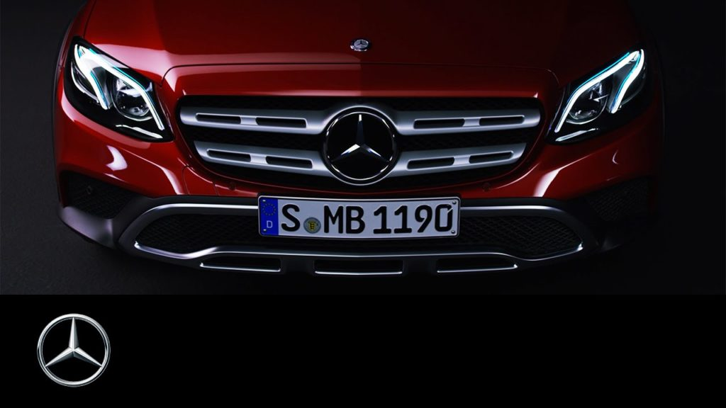 Mercedes: la nuova Classe E SW All Terrain si svela [VIDEO TEASER]