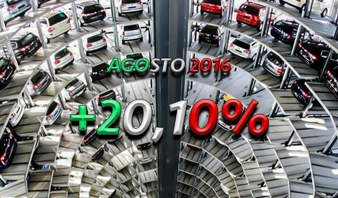Mercato auto Italia: aumento record del 20,1% in agosto, ma non manca la polemica
