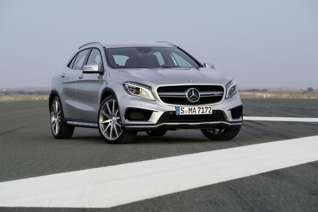 Mercedes: in cinque anni raddoppiato il numero di Suv venduti