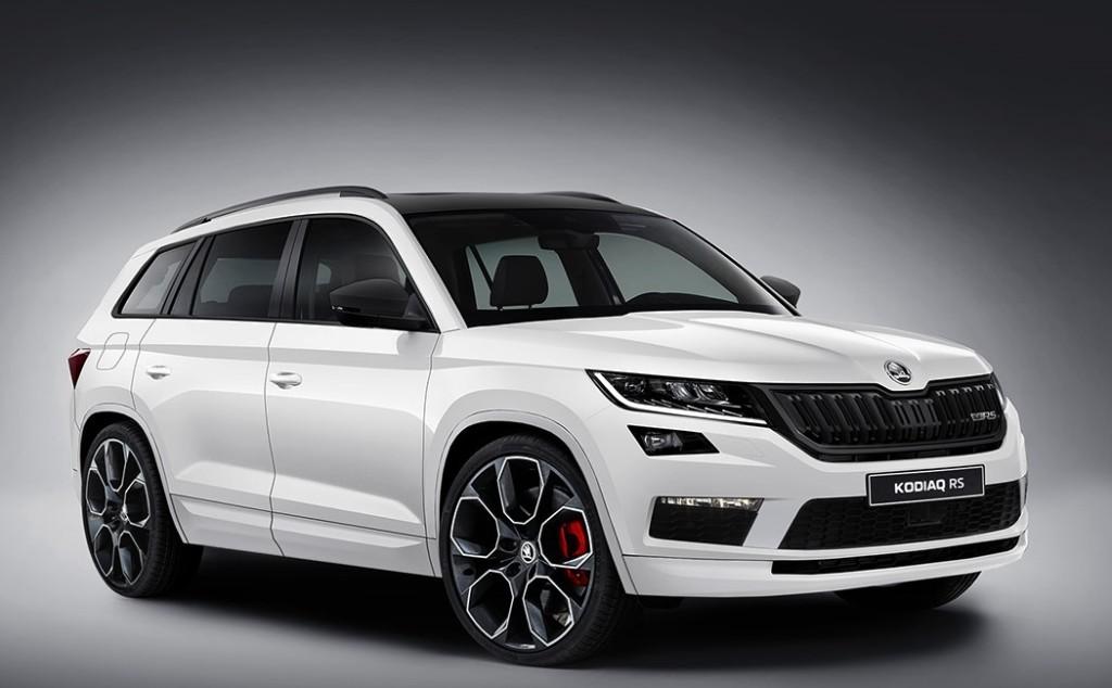 Skoda Kodiaq RS: il nuovo SUV high-performance immaginato così [RENDERING]