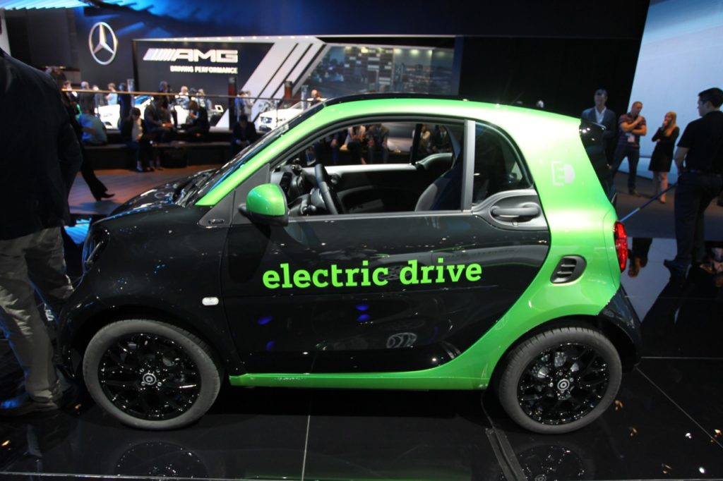 smart fortwo ED - Salone di Parigi 2016