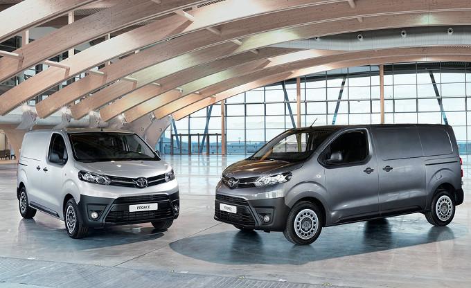 Nuovo Toyota Proace 2016