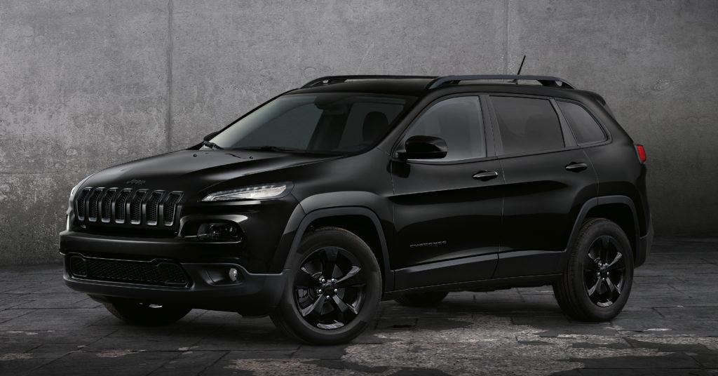Jeep: la Cherokee Night Eagle II al Salone di Parigi 2016