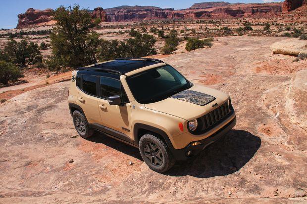 Jeep Renegade Desert Hawk: ecco la nuova Limited Edition