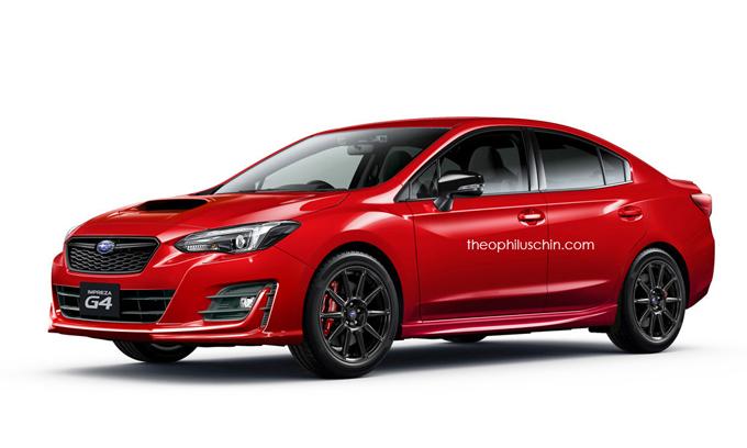 Subaru Impreza: la quinta generazione pensata nella variante sportiva [RENDERING]