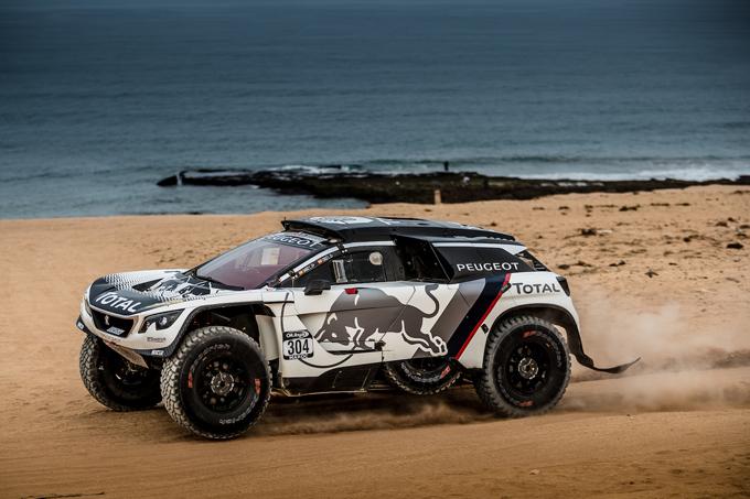 Peugeot 3008 DKR: primo podio per Carlos Sainz e Lucas Cruz al Rally del Marocco