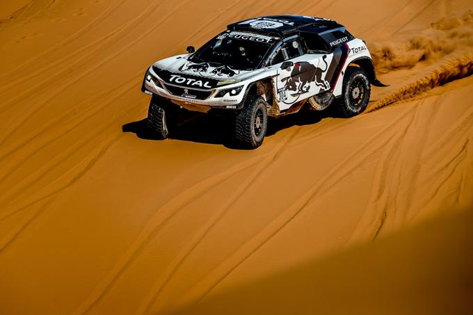 Peugeot al Rally del Marocco 2016, 4^ tappa: continua la raccolta dati per la Dakar 2017