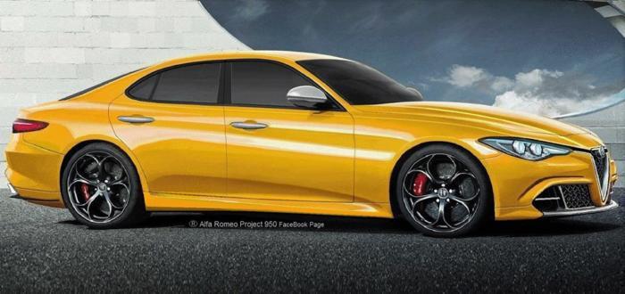 Alfa Romeo Alfetta: nuova ipotesi di design [RENDERING]