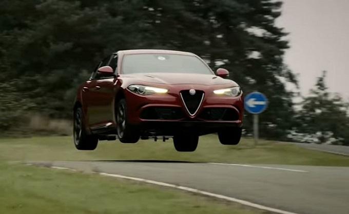 Alfa Romeo Giulia: un balzo nel cuore degli inglesi [VIDEO]