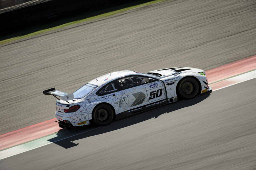 BMW M6 GT3 - Test Mugello Alex Zanardi