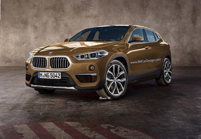 BMW X2: ecco come potrebbe essere il nuovo crossover di serie [RENDERING]