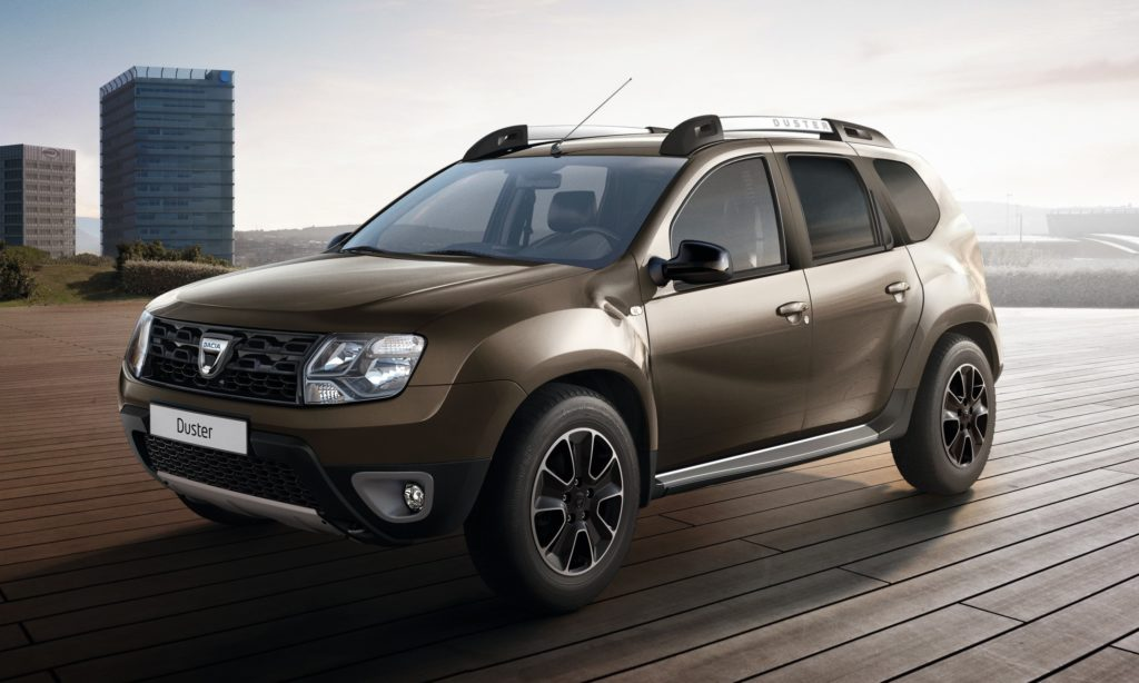 Dacia duster black shadow raffinata nuova serie limitata for Dacia duster listino