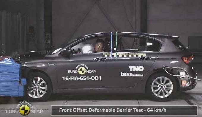 Fiat Tipo: 3 o 4 stelle nei Crash Test EuroNCAP