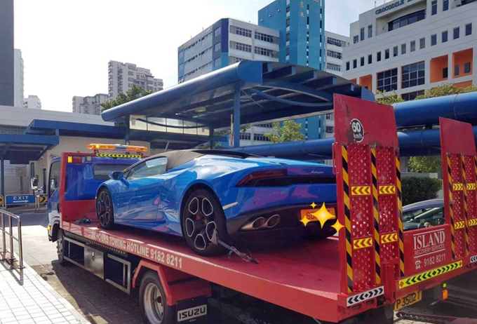 Lamborghini Huracan Spyder, sorpassi pericolosi: arrestato automobilista a Singapore [VIDEO]